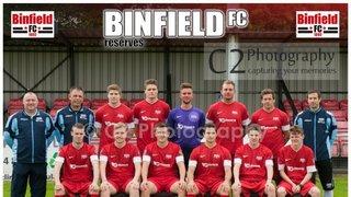 BINFIELD RESERVES - Champions Uhlsport Div 2 East 2013/14