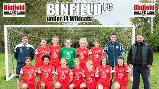Binfield U14 Wildcats v Ashridge Park - 8th November 2014