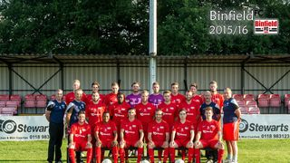 Binfield 3-1 Brackley Town Saints