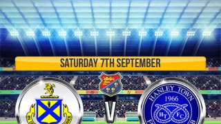 A visit from Hanley Town this weekend for The Yellows