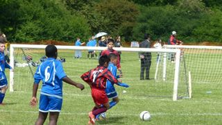 Under 11b at Hillingdon FC soccer festival 2013