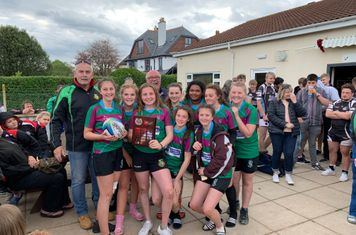 Girls Cup Winners - Excombe