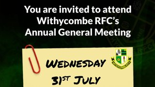 Withycombe RFC Annual General Meeting