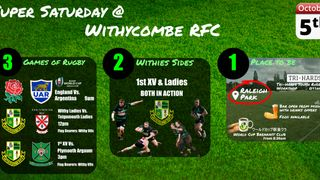 Super Saturday @ Withycombe RFC