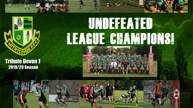 Withies Crowned League Champions!