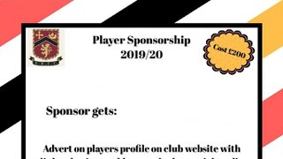 Player Sponsorship Opportunities