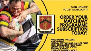 Online programme subscription on sale now!