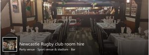 Rugby Club Room Hire