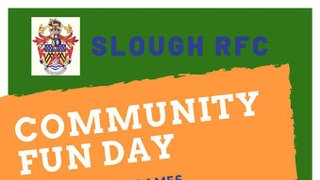 Slough RFC Community Day - Saturday 31st August