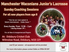 ** TRAINING FOR NEW PLAYERS NOW ON **