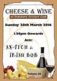 Annual Wine & Cheese Sunday !