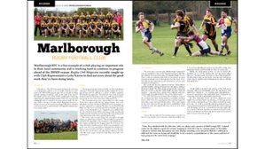 MRFC appears in The Rugby Magazine