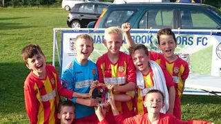 """Lingfield Under 9's are silver """"plated"""""""