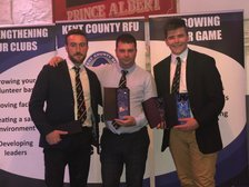 Success at the Kent Rugby Volunteer Awards