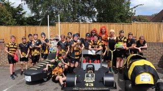 Under 13's Pram Race 30th June 2019