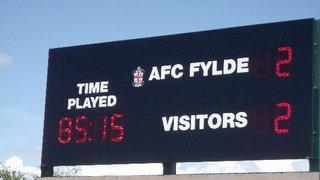 AFC Fylde v. Workington AFC - Sat 3 Aug 2013