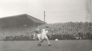 Workington AFC v. Manchester United - 4th January, 1958