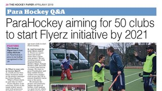 TW Flyerz Feature in Hockey Paper Article