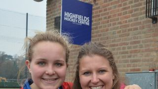 Havering 'Old Girls' meet up at the BUCS finals at Beeston Hockey Club