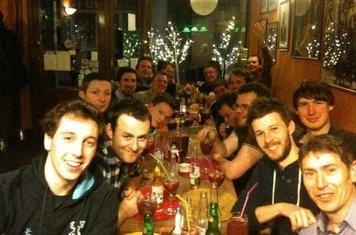 End of season dinner 2012-13.
