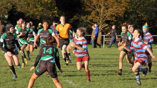Mixed bag for U15 Girls in first ever National Cup games