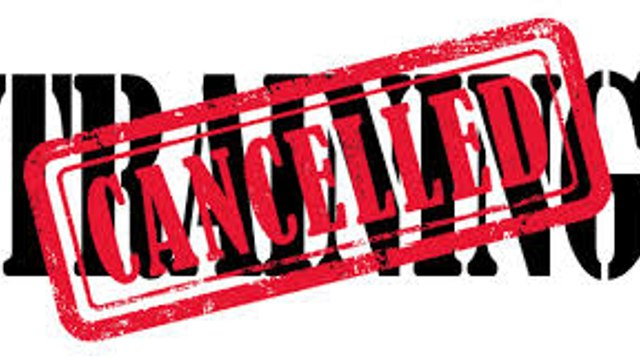 No Rams Rugby until further notice