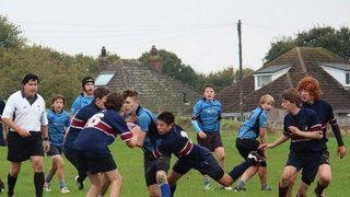 u15s through to 1st round of the Cup
