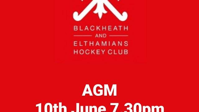 Reminder: AGM - Thurs - 7.30pm via Zoom