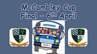 McCambley Cup Final - Supporter's Bus