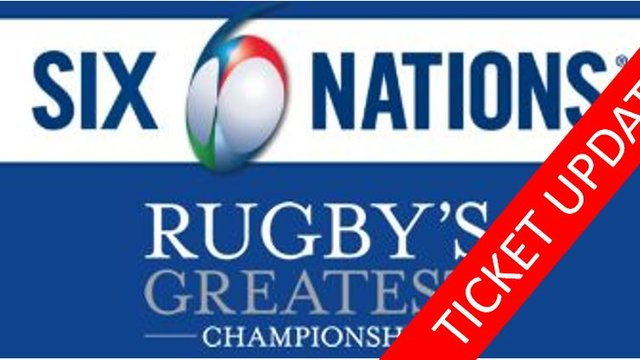 UPDATE...6 NATIONS 2020