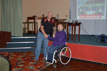 Wheelchair Coaches Player - Chris Greenhalgh