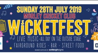 WicketFest 2019 - line up revealed