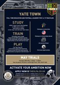 May Trials- Yate Town Academy