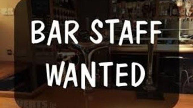 Bar Staff - Urgent Volunteers Required