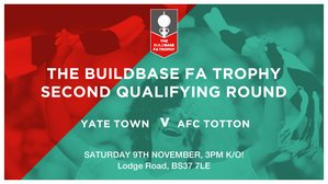 FA Trophy: Yate Town v AFC Totton