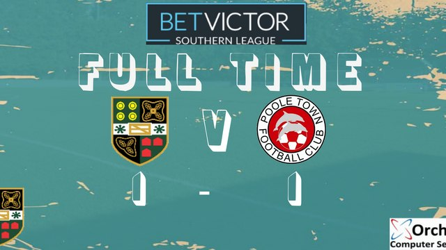 REPORT: Yate Town 1-1 Poole Town