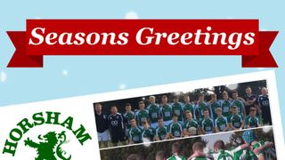 Seasons Greetings from the Under 16s. Many thanks to all of those who have coached us and supported us.