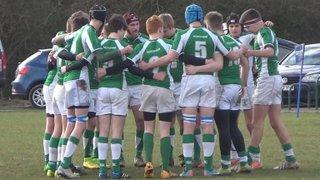 U16 v Brighton 1/2/15 Away