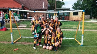 U11 Girls at Andover New Street Tournament 6-a-side Tournament