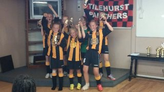 U11 Girls at Tilehurst Panthers 6-a-side Tournament