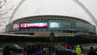 U12 Girls trip to Wembley 23rd Nov 2014