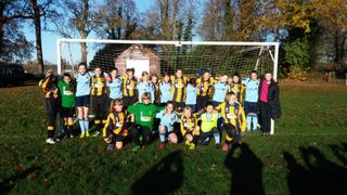 Thatcham Tornadoes U12 Girls V Wargrave Wildcats Dec 2014