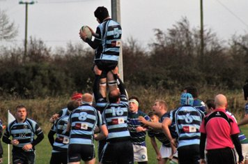 Good lineout ball by James Bleakly..