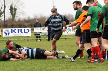 Rory dives and scores an excellently worked try.