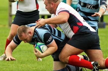 Jordan Munnis, takes on the Malone prop.