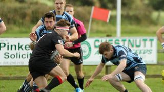 Ballymoney RFC 1st XV v Limavady RFC 1st XV, KQ2 League, Sat 27 Oct 2018