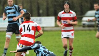 Ballymoney RFC 1st XV v Randalstown RFC 1st XV , KQ2 League, Sat 3 Nov 2018