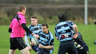 Ballymoney RFC 1st XV v UUC 1st XV ,KQ2 League, Sat 26 Jan 2019