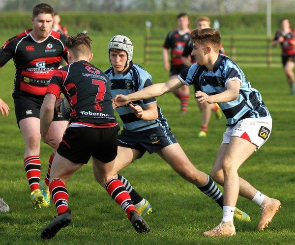 Ballymoney v Rainey, Ulster U20s Tournament Final, Easter Monday, Kilraughts Road