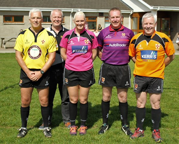 Ulster Branch Referees for the day .